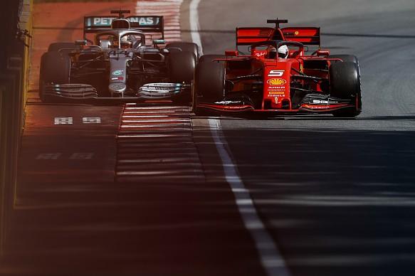 Vettel Hamilton Canadian Grand Prix 2019
