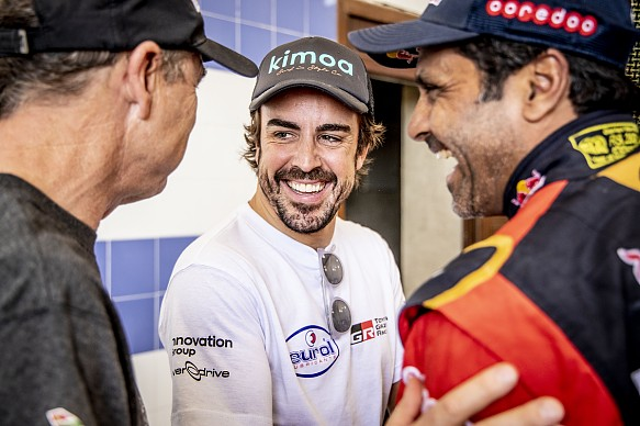 Alonso Toyota Rally Morocco 2019