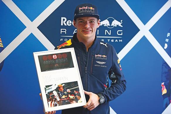 Max Verstappen F1 Racing Awards