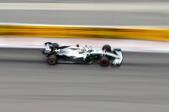 Lewis Hamilton Mercedes Russian Grand Prix 2019