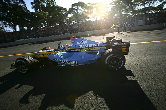 Alonso champion Brazil 2006