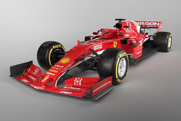 2019 Ferrari F1 mock-up