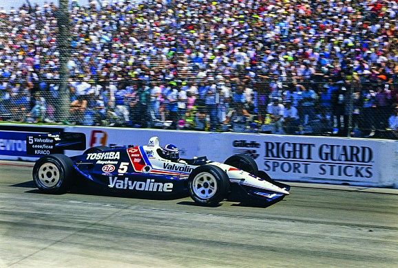 Al Unser Jr Long Beach Indycar 1990