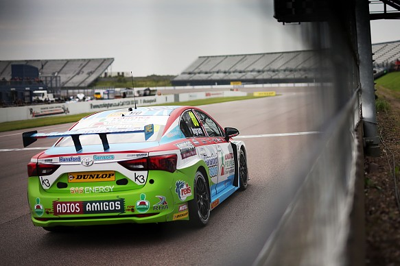 Tom Ingram Speedworks Motorsport BTCC Rockingham 2017