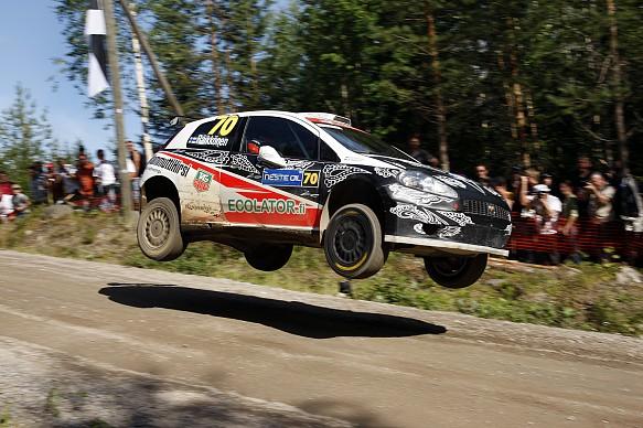 Kimi Raikkonen WRC Finland 2009