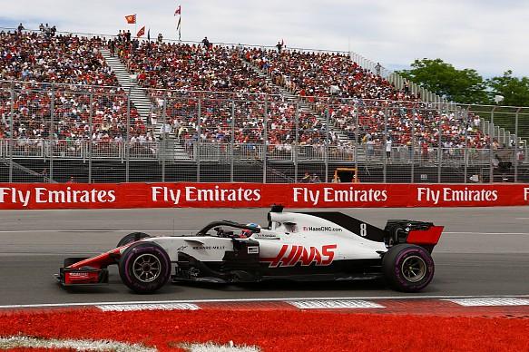Romain Grosjean Canadian Grand Prix 2018