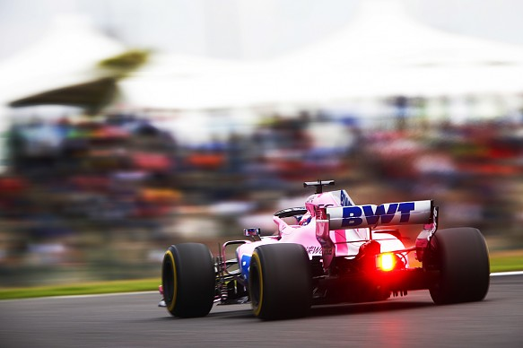 Esteban Ocon Force India Japanese GP 2018 Suzuka