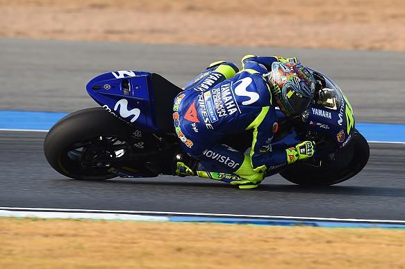 Valentino Rossi Yamaha Buriram MotoGP test 2018