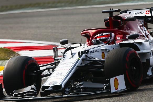Kimi Raikkonen Alfa Romeo Chinese Grand Prix 2019
