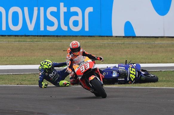 Marc Marquez Valentino Rossi Argentina MotoGP 2018