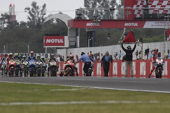 MotoGP Argentina grid for the start