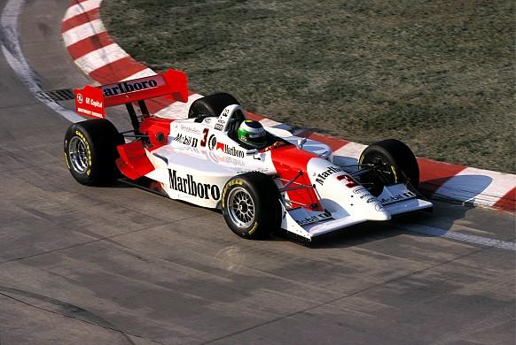 Gonzalo Rodriguez Penske Detroit Champ Car 1999