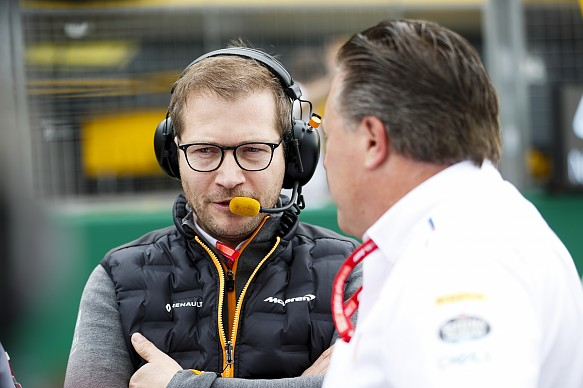 Seidl McLaren F1 2019