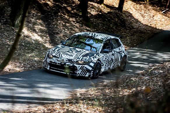 Volkswagen Polo R5 WRC2 car