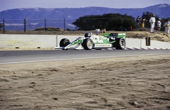 Al Unser Jr Porsche Indycar Laguna Seca 1987