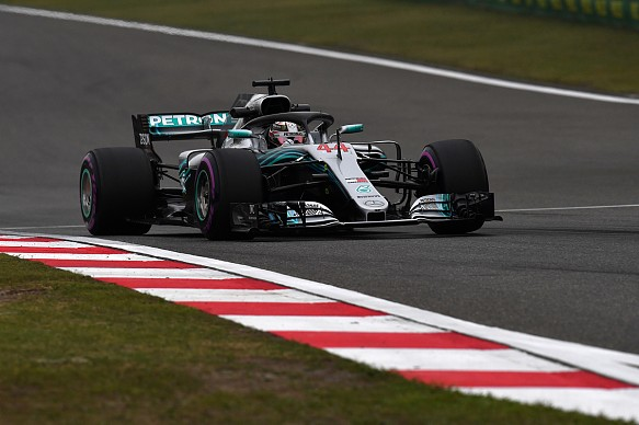 Lewis Hamilton Mercedes F1 2018 China