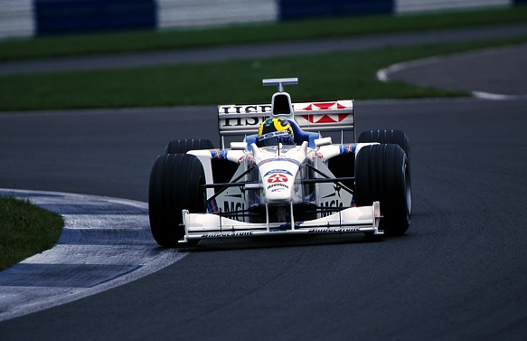 Mario Haberfeld F1 testing