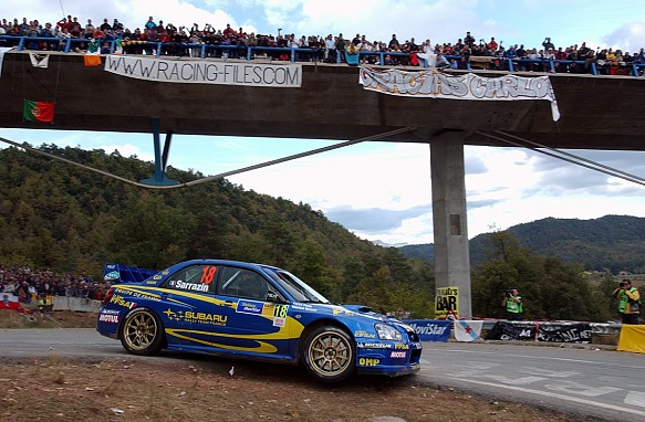 Stephane Sarrazin, 2004 Rally Catalunya