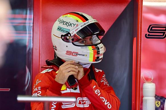 Vettel Ferrari British Grand Prix 2019