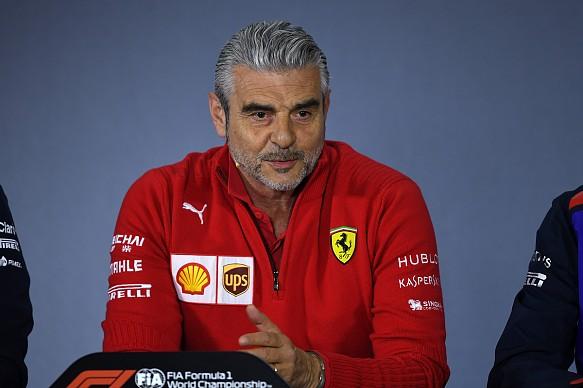 Maurizio Arrivabene Ferrari F1 2018