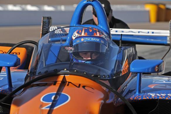 Scott Dixon IndyCar aeroscreen Phoenix testing 2018