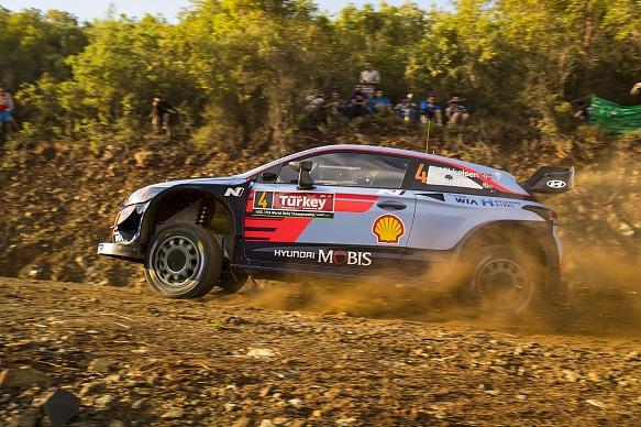 Mikkelsen Hyundai Turkey WRC 2018