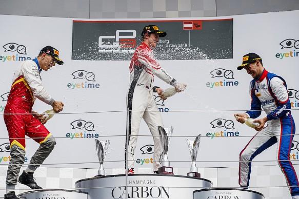 Callum Ilott wins Red Bull Ring GP3 2018