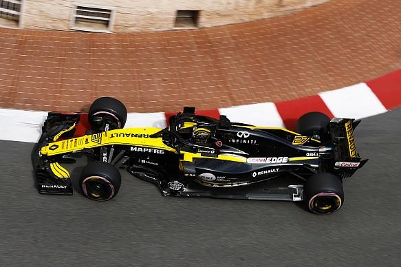Nico Hulkenberg Renault Monaco GP 2018