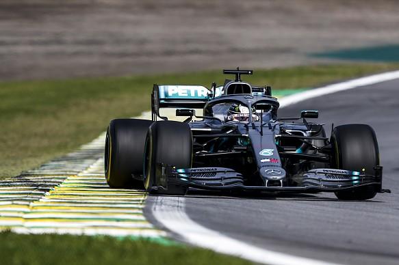 Hamilton Mercedes Brazil 2019