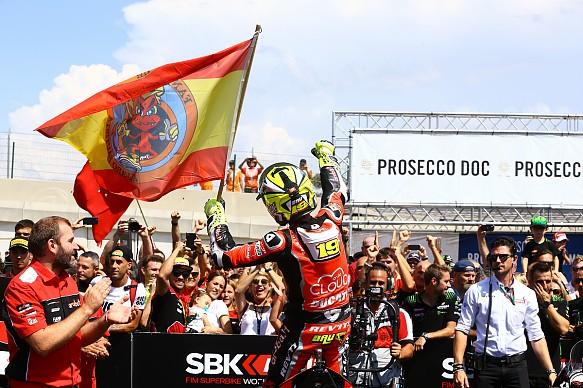 Alvaro Bautista Ducati World Superbikes 2019
