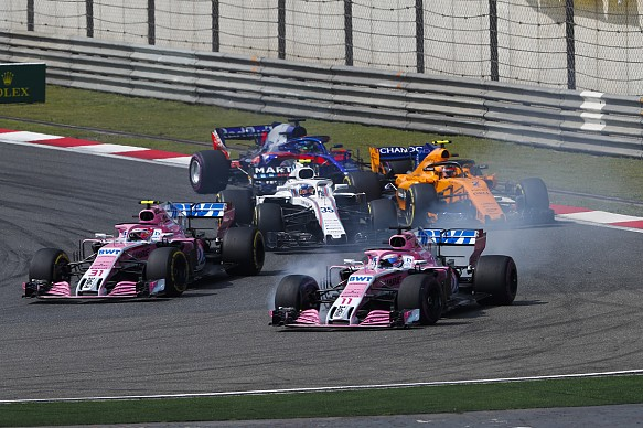 Force India Chinese GP 2018