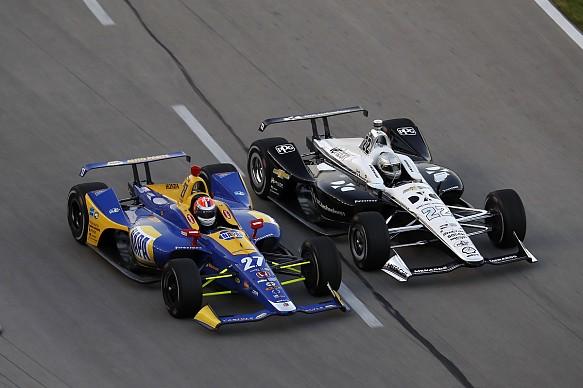 Simon Pagenaud Alexander Rossi Texas IndyCar 2018