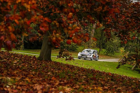 Sebastien Ogier WRC 2017 Rally GB