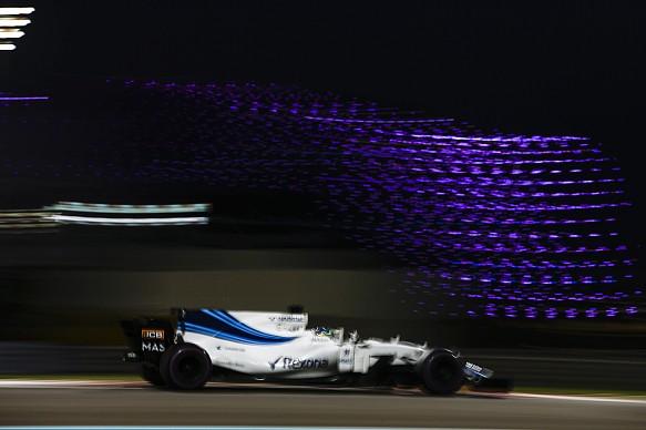 Felipe Massa Williams Abu Dhabi GP 2017