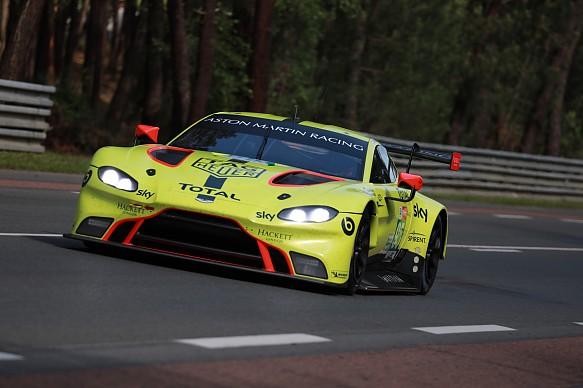Nicki Thiim, Marco Sorensen Aston Martin Le Mans 2018