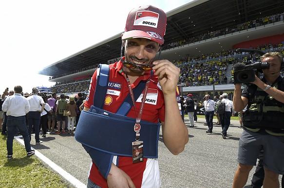 Michele Pirro 2018 Italian Grand Prix Mugello