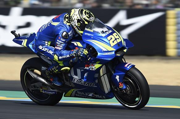 Andrea Iannone Suzuki MotoGP 2018