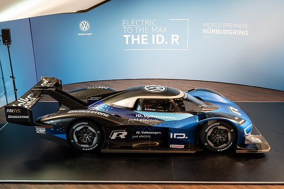 VW I.D. R unveiled at Nurburgring 2019