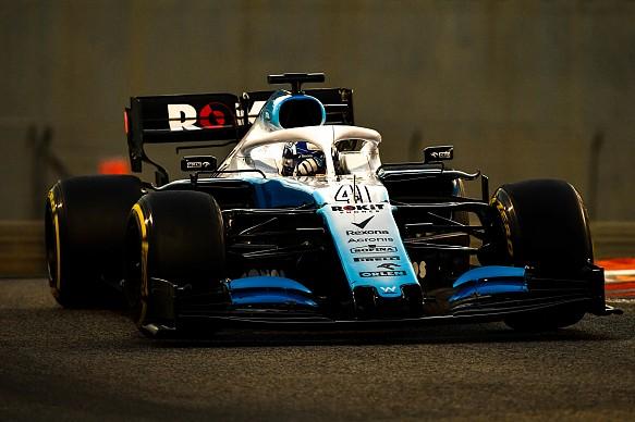 Roy Nissany Williams Abu Dhabi F1 tyre test 2019