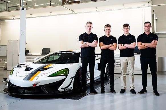 McLaren GT programme 2019