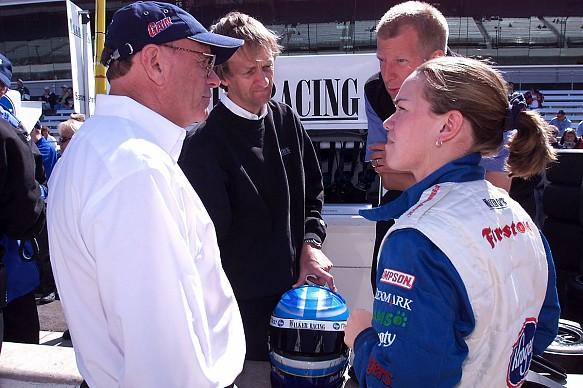 Sarah Fisher 2000 Indy 500 Walker Racing