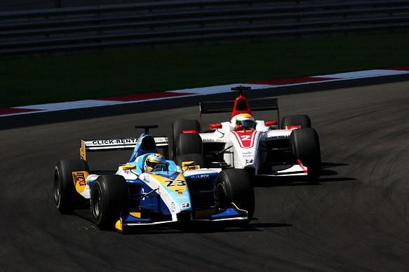 Lucas di Grassi Lewis Hamilton 2006 GP2 Turkey
