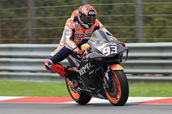 Marc Marquez Honda Sepang MotoGP testing 2018