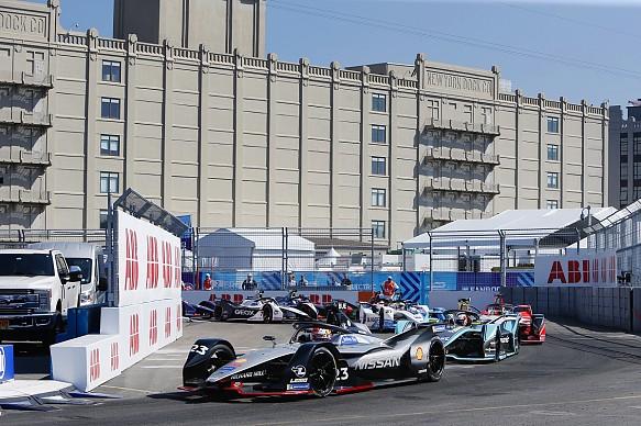 Sebastian Buemi Nissan Formula E New York 2019
