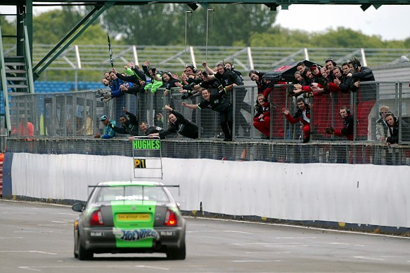 Warren Hughes MG BTCC Silverstone 2002