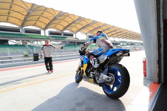 Tom Luthi Marc VDS Honda Sepang MotoGP test 2018