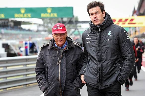 Wolff Lauda Mercedes F1 2017