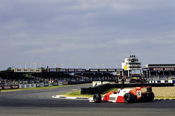 Erik Comas 1990 Silverstone F3000