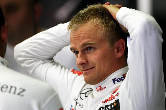 Heikki Kovalainen McLaren 2008