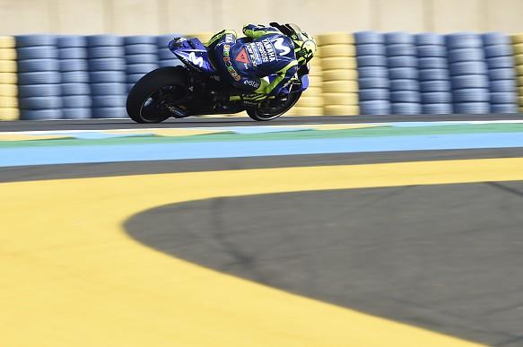 Valentino Rossi Yamaha Le Mans MotoGP 2018